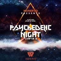 <small>Monervo xx Psychedelic Night Ch.III 2017 <br>das gr��te Psychedelic & Techno Event in Berlin </>