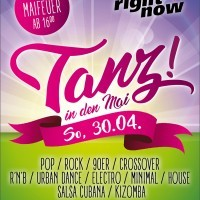 Tanz in den Mai mit Right Now - Disco Live<small><small>// 10 Floors, 20 DJs & Live Band</small></small>