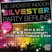 Silvester in der Kulturbrauerei <br><small>Die gr��te Indoor - Silvesterparty Berlins</small>