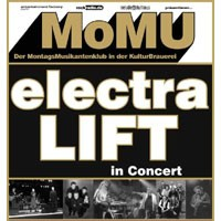 MoMU � DER MONTAGSMUSIKANTENKLUB | Electra & LIFT in concert!