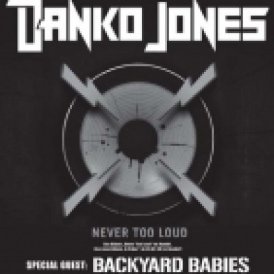 Danko Jones / support: backyard babies