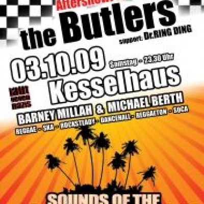 ReggaeCaribbeanNight @ Kesselhaus - mit AfterShow Party The Butlers