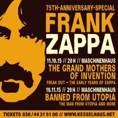 <small>Banned from Utopia<small><br>Frank Zappa - 75th Anniversary Special
