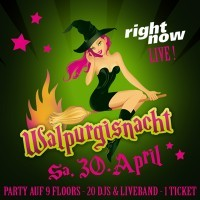 Walpurgisnacht <small><br>- Right Now LIVE -</small>
