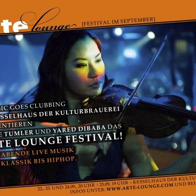 ARTE Lounge Festival <br> <small>Sarah Chang, Gabriel Schwabe, Raphael Gualazzi, Shaka Ponk</small>